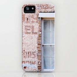 Faded Brick iPhone Case