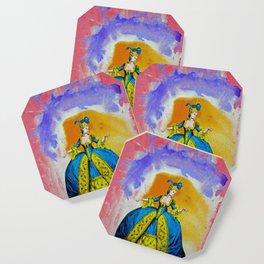 Marie Antoinette by Michael Moffa Coaster