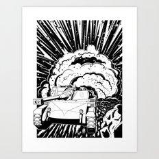 Bang Art Print