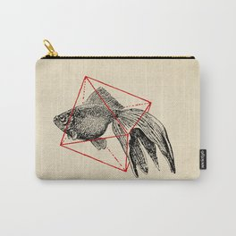 Fish In Geometrics III Carry-All Pouch