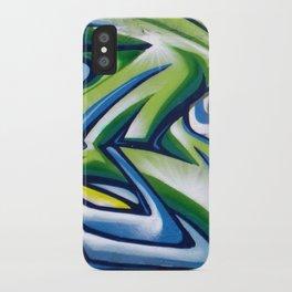 Sticker wall iPhone Case