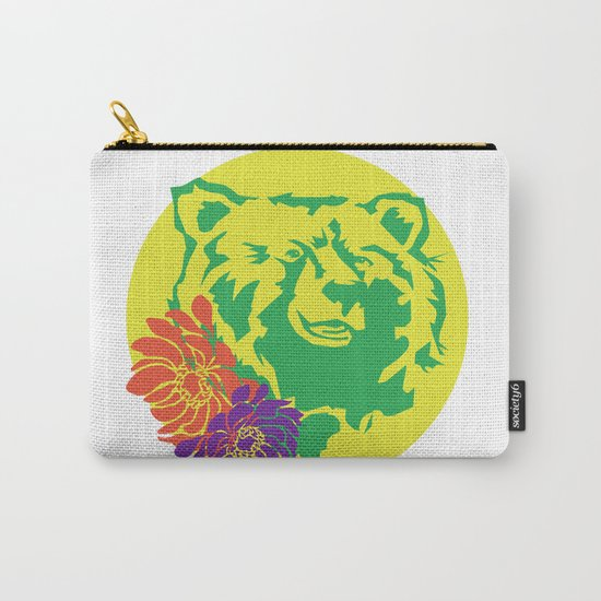 Hawaii Bear Anemone Carry-All Pouch