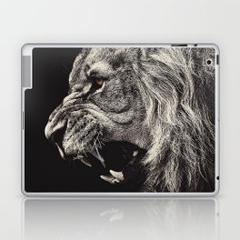 Angry Male Lion Laptop & iPad Skin