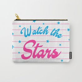 Watch The Stars, motivational, inspirational poster, Carry-All Pouch