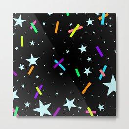 Stars & Tape Metal Print