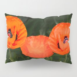 Oriental poppies Pillow Sham