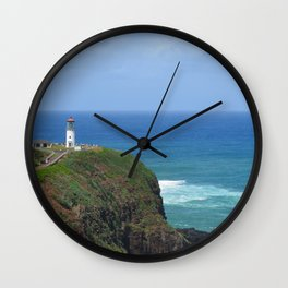 Kilauea Lighthouse Wall Clock