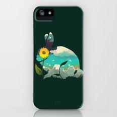 Rabbit Sky - (Forest Green) iPhone (5, 5s) Slim Case
