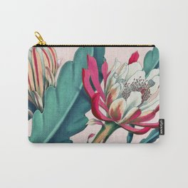Flowering cactus IV Carry-All Pouch