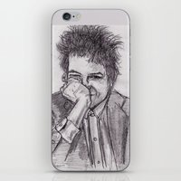 bob dylan iPhone & iPod Skins featuring Bob Dylan by jamestomgray