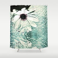 poetry Shower Curtains featuring Abstract Poetry by Webgrrl