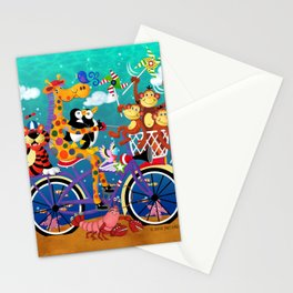 Ridin' Happy Gang Stationery Cards