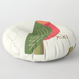 Australian King Parrot, Bird of Australia Floor Pillow