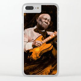 BB King Clear iPhone Case