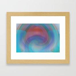 Retro Nouveau Framed Art Print