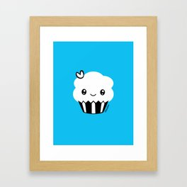Mimibun Cupcake Logo Framed Art Print