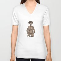 et V-neck T-shirts featuring ET by V.L4B