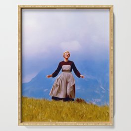Julie Andrews, Sound of Music Serving Tray