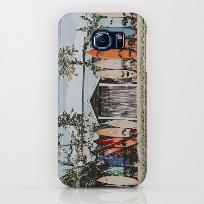 lets surf vi / maui, hawaii iPhone Case