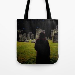 Druid Princess of Stonehenge Tote Bag