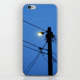 At First (street) Light iPhone Skin