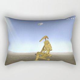 War Stars: Golden One Rectangular Pillow
