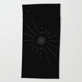 Stellar Evolution Beach Towel