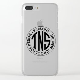 Parsons The New School for Design Student Apparel Clear iPhone Case