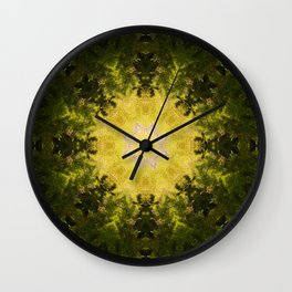 Forest Lore Mandala Wall Clock