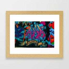 ATL Graffiti Framed Art Print