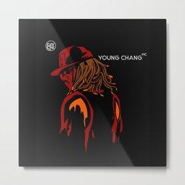 Young chang mc Metal Print
