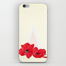 Floral Triangle iPhone & iPod Skin