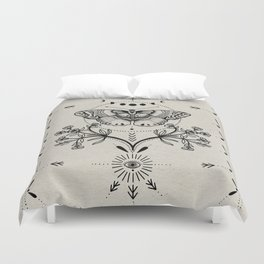Magical Moth Duvet Cover