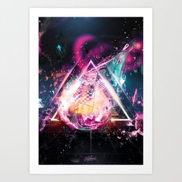 ERROR ULTRA Art Print