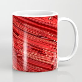 Speed Demon / Abstract 3D render of glass and metal Coffee Mug