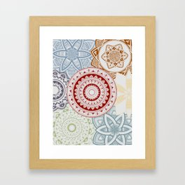 One by another Framed Art Print