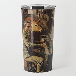 Reproduction Jazz Poster,Thelonious Monk  Underground Travel Mug