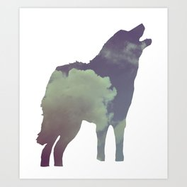 The Wolf (Jannika Edition) Art Print