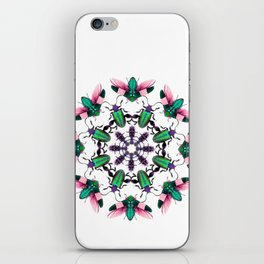 Bug Mandala 2 iPhone Skin