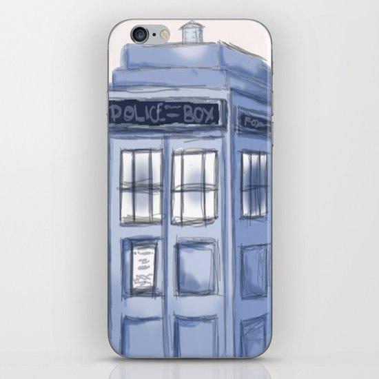 TARDIS iPhone & iPod Skin
