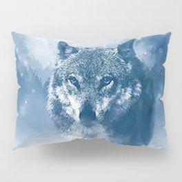 Snow Wolf Pillow Sham
