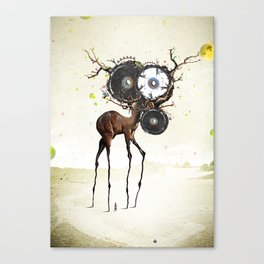 I'm on a horse Canvas Print
