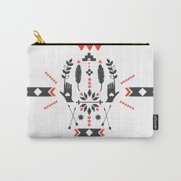 Norwegian Folk Graphic Carry-All Pouch
