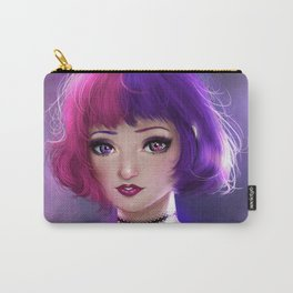 Violet Carry-All Pouch
