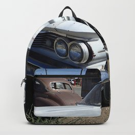 Antique wheels Backpack