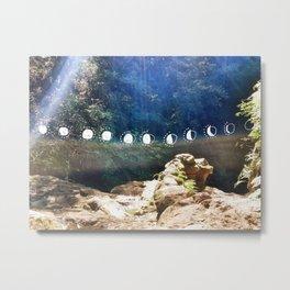 Art & The Moon (1) Metal Print