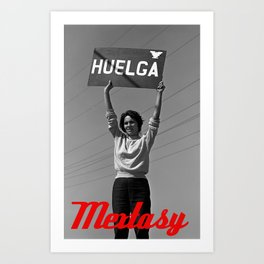 Chicana Activist Hall of Fame Art Print