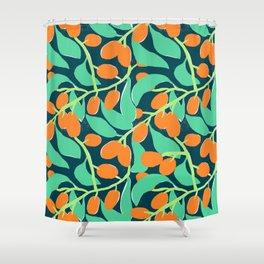 Kumquats Shower Curtain