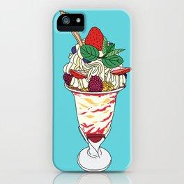 Strawberry Sundae iPhone Case