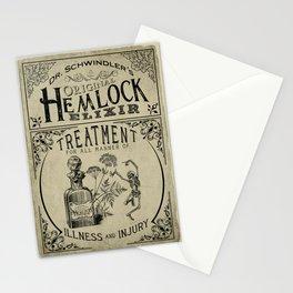 Dr. Schwindler's Original Hemlock Elixir Stationery Cards